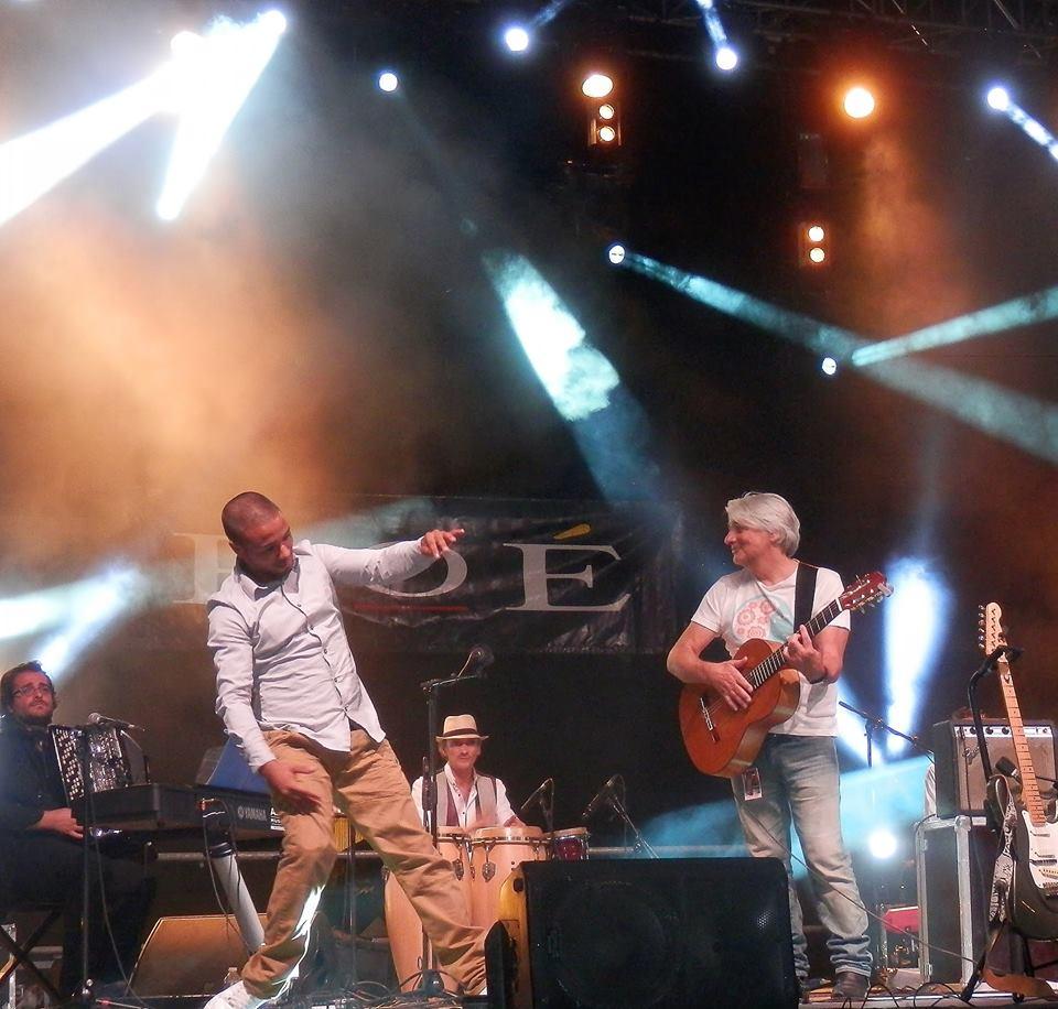 Sadeck avec Roé live arènes de Nîmes 2