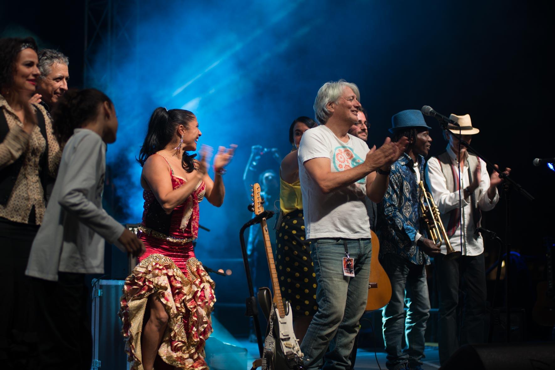 groupe Roé live arènes de Nîmes