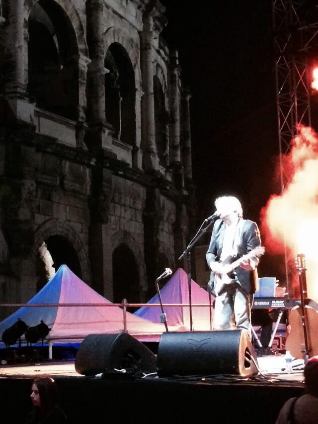 Roé live arènes de Nîmes